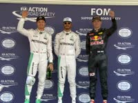 F1墨西哥站排位赛赛后合影