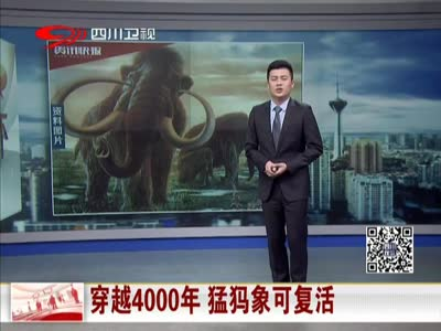 [视频]猛犸象两年后可复活 穿越4000年只待合格代孕体
