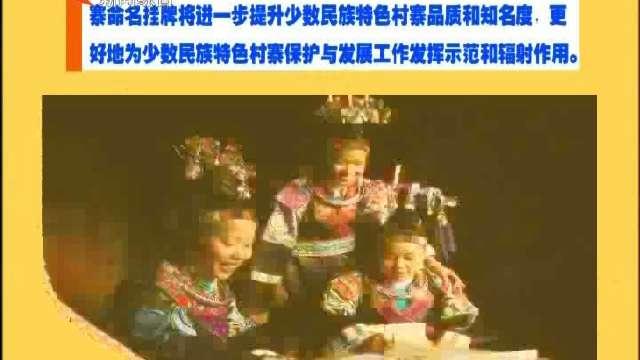 第二批中国少数民族特色村寨命名挂牌 资阳区蓼东回民村在列