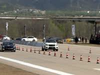 只是负责搞笑的 500匹奔驰SUV大战尼桑GTR被教做人