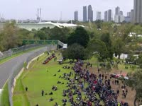 F1澳大利亚FP3(现场声)全场回顾