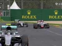 F1澳大利亚站排位 汉密尔顿受制于格罗斯让身后