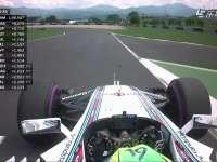 F1奥地利站排位赛:霍肯伯格受阻挡