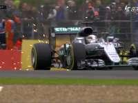 F1英国站FP3:汉密尔顿与赛道擦出火花
