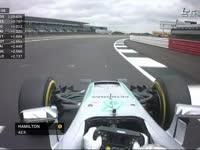F1英国站排位赛Q3停表:汉密尔顿杆位 红牛第三