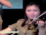 朝鲜牡丹峰乐团演出实况