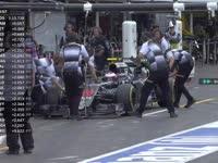 要调的好多 F1德国站FP3:巴顿反馈赛车状况