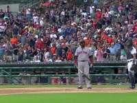 在底特律最后一击 红袜老爹接受鼓掌欢送