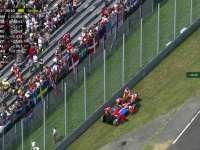 F1意大利站排位赛Q1:奥康停车回放TR报告赛车故障