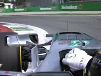 F1意大利站排位赛Q2:汉密尔顿锁死轮胎