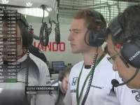 F1马来西亚站FP1:范多恩现身迈凯伦维修间