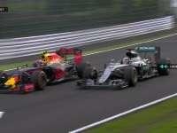 F1日本站正赛:汉密尔顿投诉维斯塔潘刹车区变线