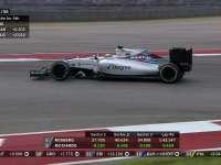 F1美国站正赛:马萨险些追尾塞恩斯