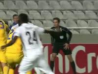 欧联-妖星破门悍将染红 希腊人竞技1-0年轻人