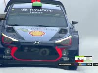 WRC瑞典站SS14:帕登成绩8分27秒6