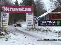 WRC瑞典站SS14:奥斯特伯格柯林坡飞出44米