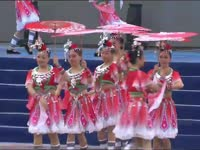 第13届世界风筝锦标赛 节目《红伞依依》