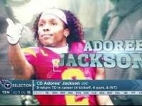 NFL2017选秀大会第18顺位 阿多里-杰克逊(泰坦)