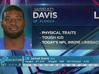 NFL2017选秀大会第21顺位 贾雷德-戴维斯(雄狮)