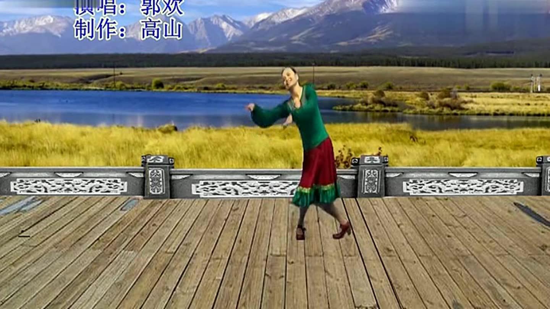 红韵广场舞 我是一条小河
