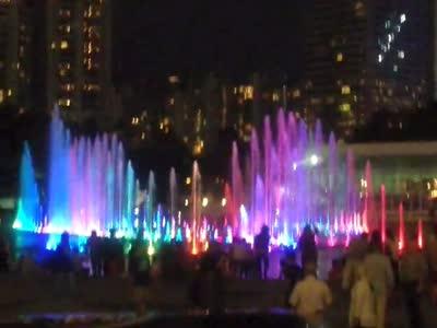马来西亚吉隆坡双子塔楼(石油大厦)喷泉