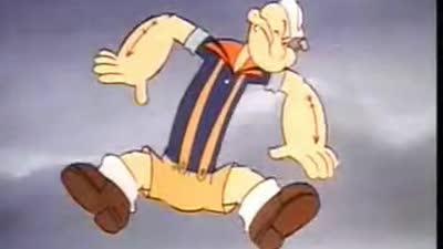 大力水手 - 波比和怪物(国语)