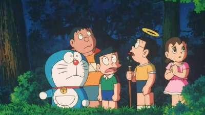 哆啦a梦1995剧场版 大雄的创世日记 国语