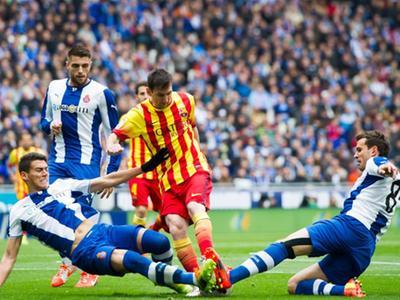 13-14赛季第31轮 西班牙人VS巴塞罗那