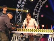 《挑战名人墙》20140426:韩星米娜做客爆笑吹蜡烛 精彩绳索魔术震惊连连
