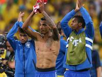 巴西3-1克罗地亚 马塞洛乌龙内马尔2球