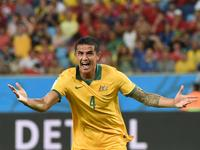 弗兰季奇卡助希尔头球破门 澳大利亚扳回一球