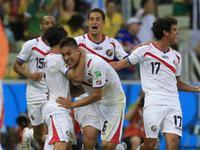 哥斯达黎加爆冷3-1乌拉圭 阿森纳小将传射建功