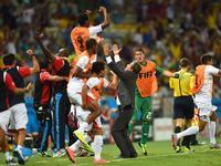 全场回放-乌拉圭1-3哥斯达黎加 妖锋坎贝尔领衔逆袭