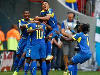 """""""嗯哪""""巴伦西亚头球破门 厄瓜多尔1-0先下一城"""