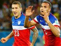 美国2-1加纳 美国队长闪电进球建功
