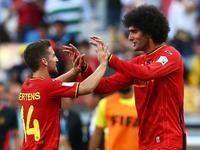 费莱尼替补头球破门 比利时1-1艰难扳平