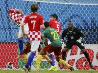 克罗地亚4-0喀麦隆 格子军团狂虐非洲雄狮
