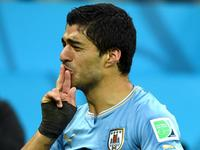 卡瓦尼助苏亚雷斯破门 乌拉圭1-0领先英格兰