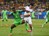 尼日利亚1-0波黑 奥德姆温吉推射破门