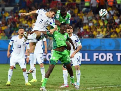 全场回放-尼日利亚1-0波黑 哲科破门被吹遭误判