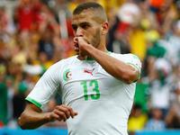 斯利曼尼垫射得手 阿尔及利亚1-0率先破僵局