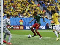 马蒂普门前推射进球 喀麦隆1-1扳平巴西