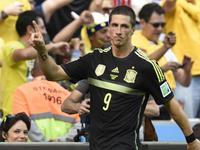 小白直传托雷斯单刀破门 西班牙2-0领先对手