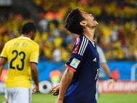 日本1-4哥伦比亚 马丁内斯两球灭亚洲晋级希望
