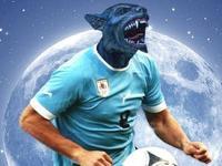 独家策划-手绘世界杯 狼人苏牙的复活