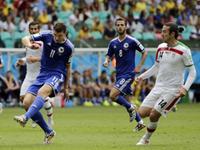 全场回放-波黑3-1伊朗 哲科皮亚尼奇破门两队均出局
