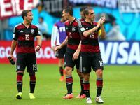 全场回放-美国0-1德国 穆勒破门德美携手晋级