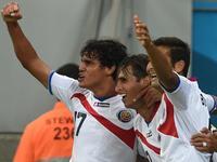 鲁伊斯写意推射破门 哥斯达黎加1-0取得领先