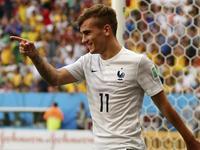 格列兹曼抢点造雅博乌龙 法国2-0锁定胜局