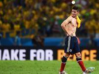 MV-哥伦比亚悲情出局 J罗痛哭心碎亿万球迷